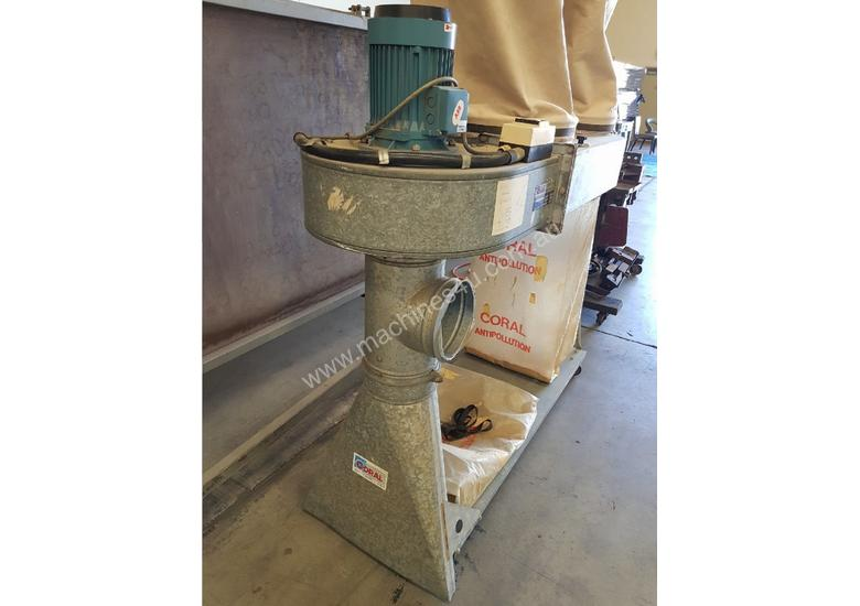 Used Coral Coral 2 4 Bag Dust Extractors Made In Italy In