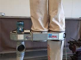 TRUPRO CYCLONE 5hp 415v Industrial Dust Extractor Unit, Late Model $ 2,750. PROTEK 3 BAG 10hp Unit - picture14' - Click to enlarge