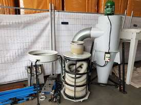 TRUPRO CYCLONE 5hp 415v Industrial Dust Extractor Unit, Late Model $ 2,750. PROTEK 3 BAG 10hp Unit - picture3' - Click to enlarge