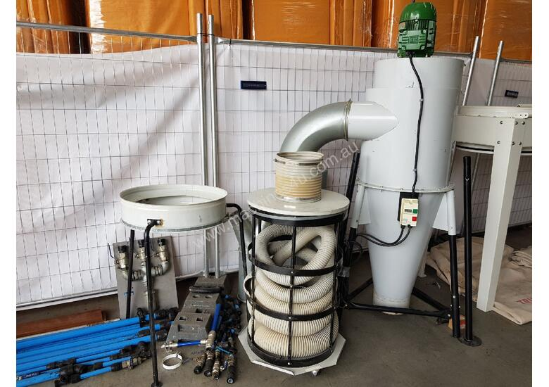TRUPRO CYCLONE 5hp 415v Industrial Dust Extractor Unit, Late Model $ 2,750. PROTEK 3 BAG 10hp Unit