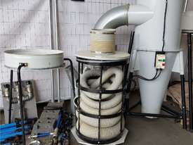 TRUPRO CYCLONE 5hp 415v Industrial Dust Extractor Unit, Late Model $ 2,750. PROTEK 3 BAG 10hp Unit - picture4' - Click to enlarge