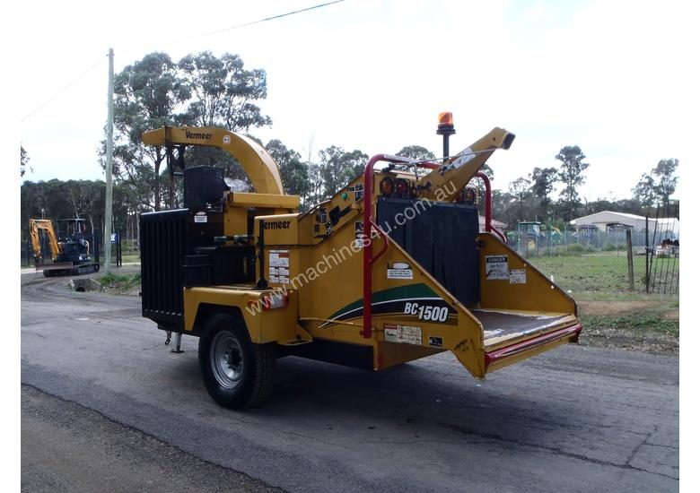 Vermeer BC1500 Wood Chipper Forestry Equipment