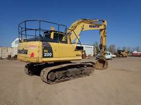 Komatsu PC200-8 Excavator - picture3' - Click to enlarge