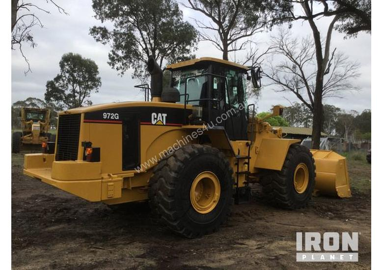 2005 Cat 972G Wheel Loader