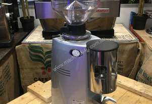 MAZZER ROBUR AUTOMATIC SILVER ESPRESSO COFFEE GRINDER MACHINE CAFE CHEAP