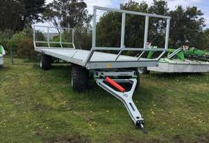 CYNKOMET T608/2 Farm Tipper/Trailer Hay/Forage Equip