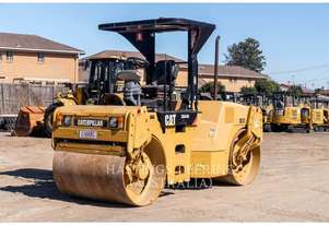 CATERPILLAR CB-434D Double Drum Smooth Roller