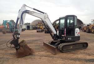 Bobcat E45 Excavator with Buckets