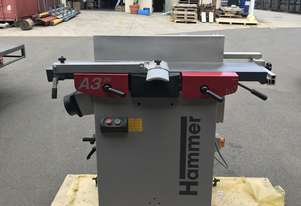 Hammer A3-26 DEMO Model (Planer/Thicknesser Combination)