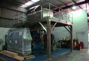 Double Helix S/S Ribbon Blender (3000L) on Platform