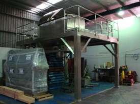 Double Helix S/S Ribbon Blender (3000L) on Platform - picture0' - Click to enlarge