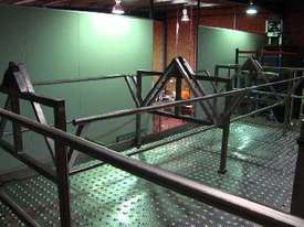 Double Helix S/S Ribbon Blender (3000L) on Platform - picture1' - Click to enlarge