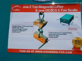 Magnetic Lifter 2Ton & 5Ton with Scale - picture2' - Click to enlarge