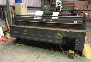 Used Kleen 2500x2mm Hydraulic Guillotine