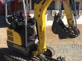 Wacker Neuson EZ17 Mini Excavator, Hydraulic Hitch & Bucket Set $32000+gst ZERO PAYMENTS FOR 90 DAYS - picture2' - Click to enlarge