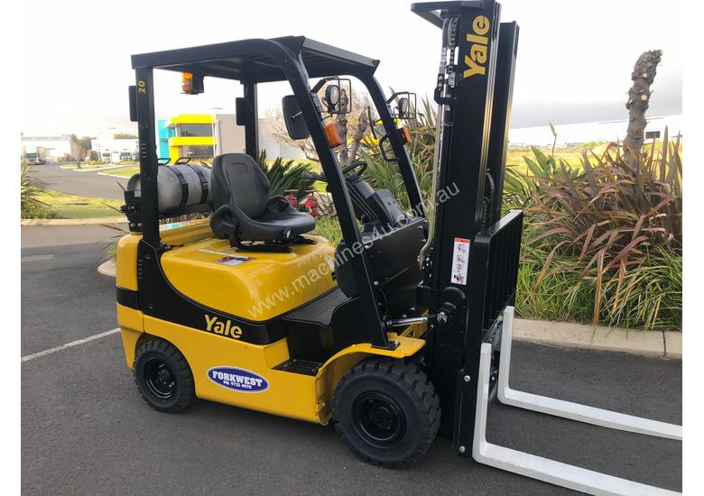 YALE 1.8 ton LPG - Hire Forklifts