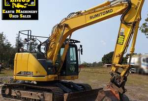 2012 Sumitomo SK145X-6 Excavator with Tilt Hitch.  MS570