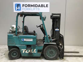Daewoo G25 LPG / Petrol Counterbalance Forklift - picture0' - Click to enlarge