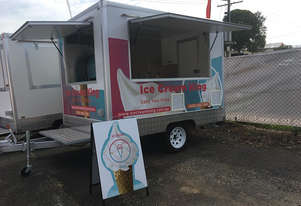 Complete Turnkey, Drive Away Soft Serve Ice Cream Trailer
