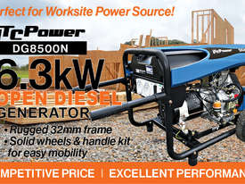 6.3kW ITC Power Open Diesel Generator  - picture2' - Click to enlarge