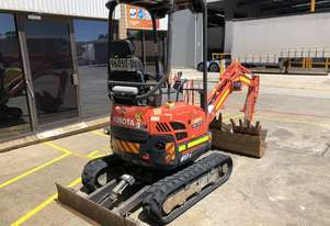Used 2015 Kubota U17-3 1.7 Tonne Mini Excavator for sale, 1415.00 hrs, Sydney NSW