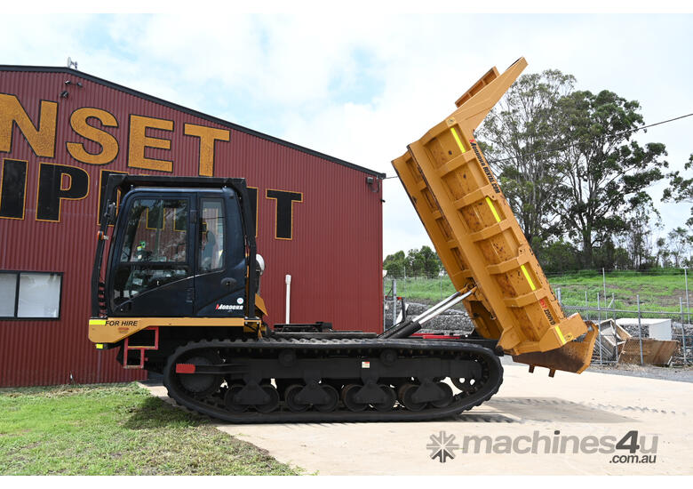 Morooka MST 2200VD Rubber Tracked Dumper For Hire