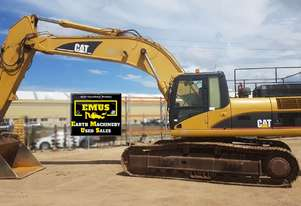 2007 Cat 330DL Excavator, Tilting Mud Bucket. E.M.U.S MS604