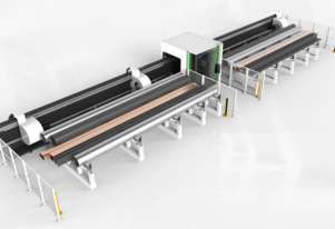 M500 Quad-Chuck Large Tube Laser Cutting Machine