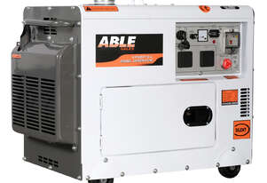 6kVA Diesel Generator - 240V in Canopy Single Phase