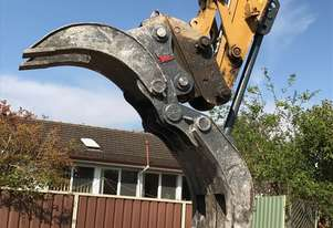 Roo Attachments - 10-14 Tonne Demolition and Logging Mechanical Grab