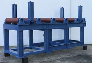 Roller Conveyor Heavy Duty 2000mm Long x 620mm Wide with 280mm High side rollers Non-power feed.