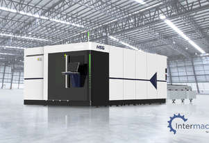 HSG 4020H 4U 8kW Fiber Laser Cutting Machine (IPG source, Alpha Wittenstein gear)