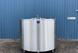 2,800ltr Jacketed Stainless Steel Tank, Milk Vat