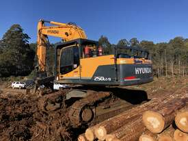 2015 Hyundai R250LC-9HC Log Loader - picture1' - Click to enlarge