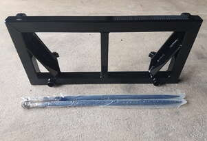 Hay forks to suit euro hitch loader