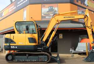 Hyundai R55-9 Track Mounted For Hire