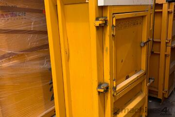 Bramidan 3X12 Vertical Baler | 10 Tonne Press Force | Cardboard & Plastic Baler