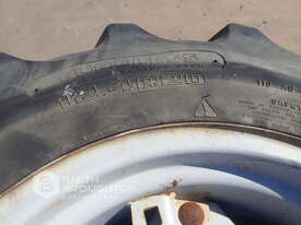 2 X GOODYEAR 12.4R20 SUPER TRACTION AGRICULTURAL TYRES & RIMS & 2 X 14.9R30 AGRICULTURAL TYRES & RIM - picture1' - Click to enlarge