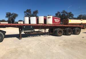 Trailer Flat Top 40ft Lead Tri SN916 1TFC153