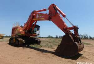 2012 EX 1200-6 Hydraulic Track Mounted Excavator. Showing 4050 Hours. Powered By A Cummins QSK23-C 7