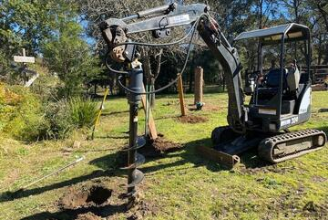 Roo Attachments 4500MAX Auger -Earth Drill