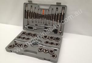 45 Piece HSS Tap & Die Set - M6 - M24