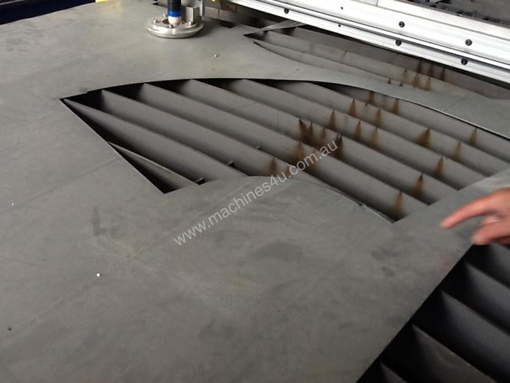 New CNC Plasma Cutter With Cam-Duct Program
