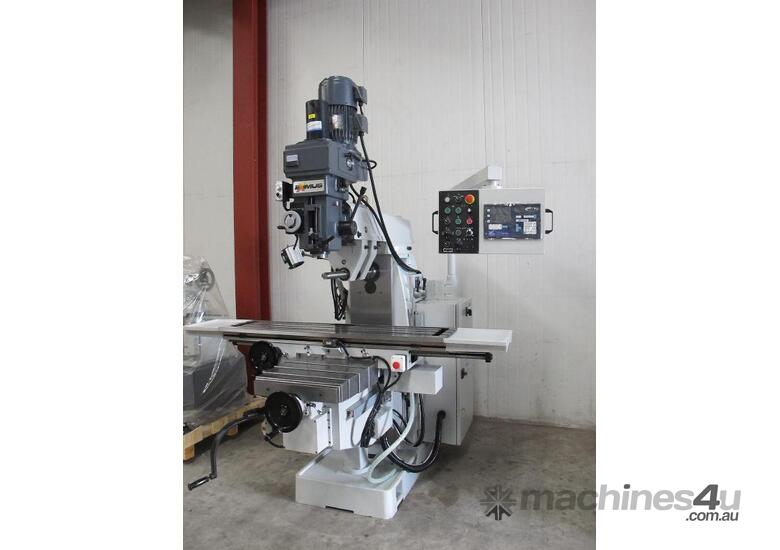 Turret Mill, NT40 Taper, Variable Speed
