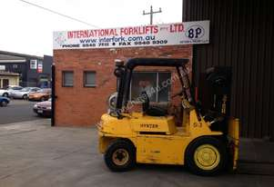 HYSTER H50H   2.5 TONNE CAPACITY  LPGAS POWERED
