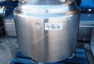 Stainless Steel Storage Tank - Capacity 150 Lt.