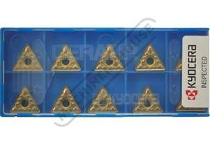 TNMG 160408-MS KYOCERA Carbide Inserts - Turning Grade CA6525 - Stainless Steel 10 Inserts Per Pack