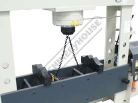DPM-1570 Industrial Hydraulic Press 150 Tonne - picture2' - Click to enlarge