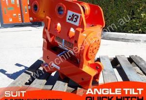 Power Hydraulic Tilting hitch Suits 5T+ Excavators