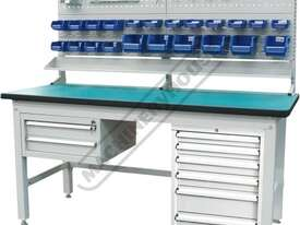 IWB-40P4 Industrial Work Bench Package Deal 1800 x 750 x 1725mm 1000kg Load Capacity - picture0' - Click to enlarge